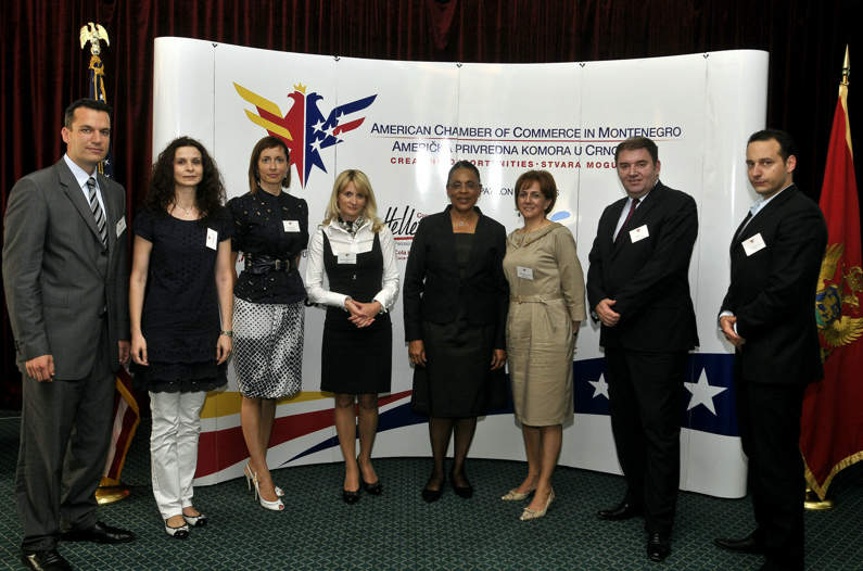 Business Luncheon with US Ambassador to Montenegro H.E. Sue K. Brown
