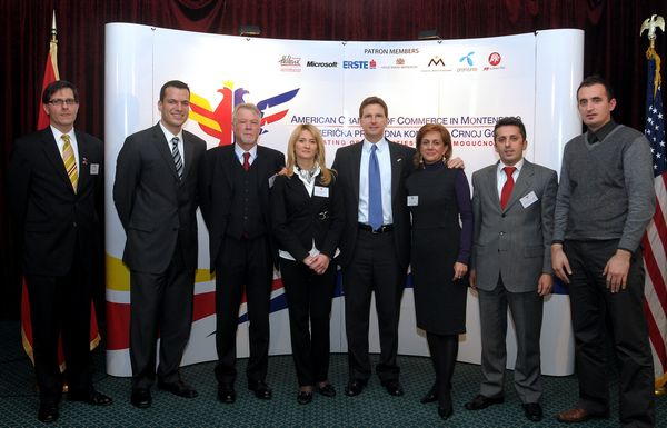 Business Luncheon with Head of EU Delegation to Montenegro Leopold Maurer