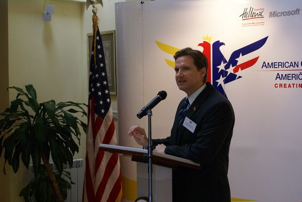 Business Luncheon with US Ambassador to Montenegro H.E. Roderick W. Moore
