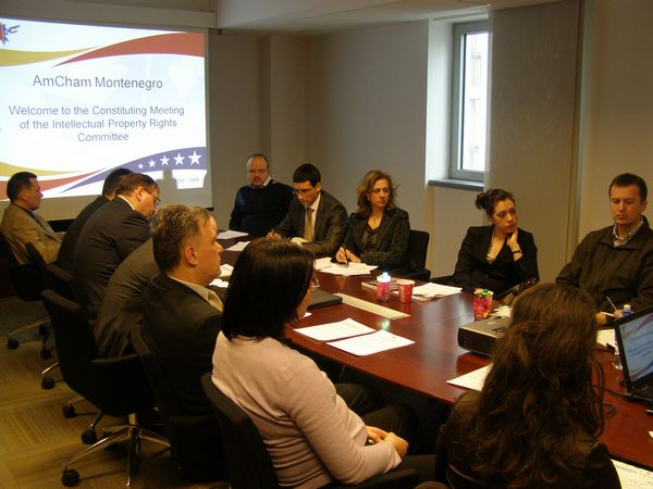 AmCham Constituting Meeting of the AmCham Intellectual Property Rights Committee