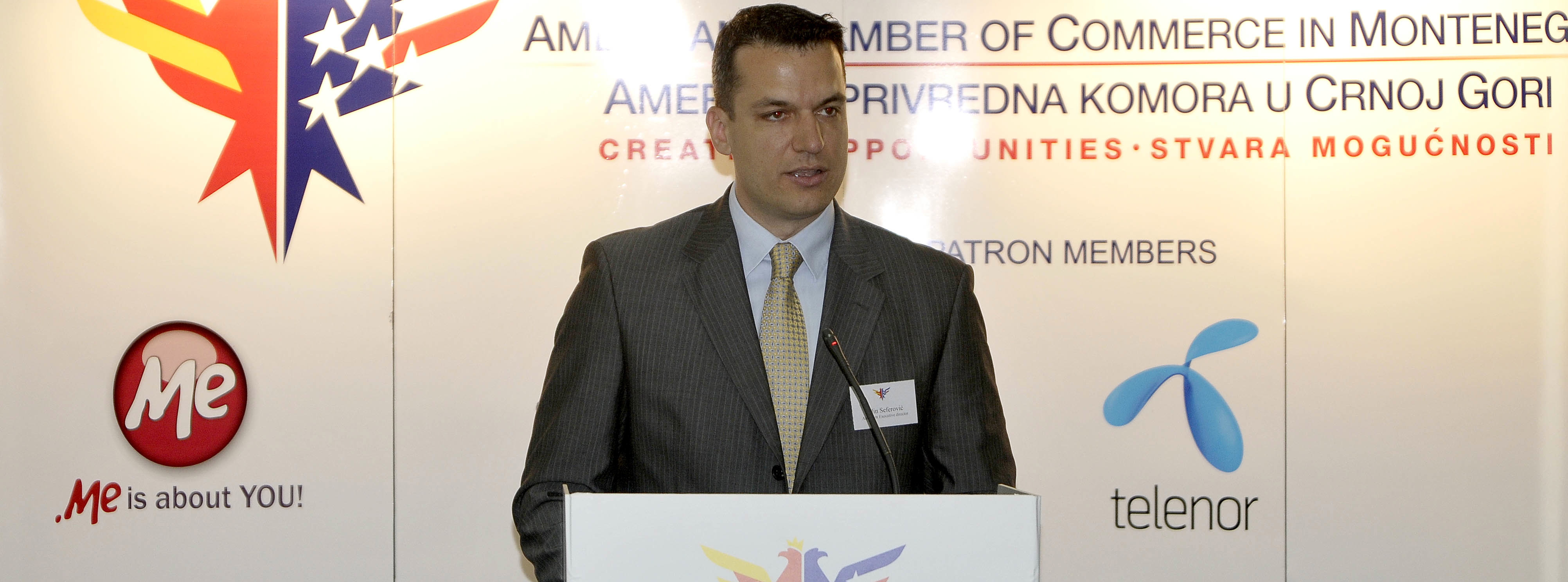 """Worldview"" Interview with the Executive Director of AmCham Montenegro"