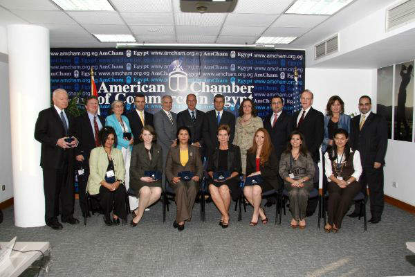 AmCham Leadership Meeting, organized by AmCham Egypt, Cairo