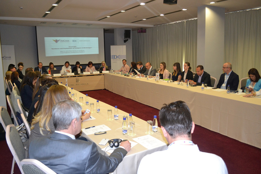 "Round Table ""Residence and Employment of Foreigners in Montenegro"""