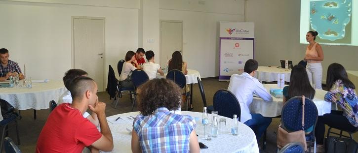 Peal Island Workshop AmCham Internship Program 2015