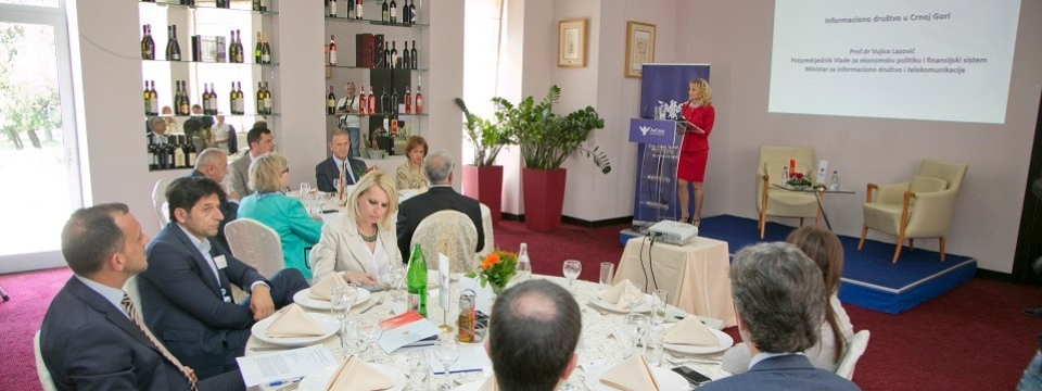 AmCham Hosted Business Luncheon with Deputy Prime Minister Lazovic