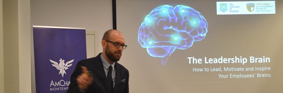 """The Leadership Brain"" Lecture by Dr Nikolaos Dimitriadis"