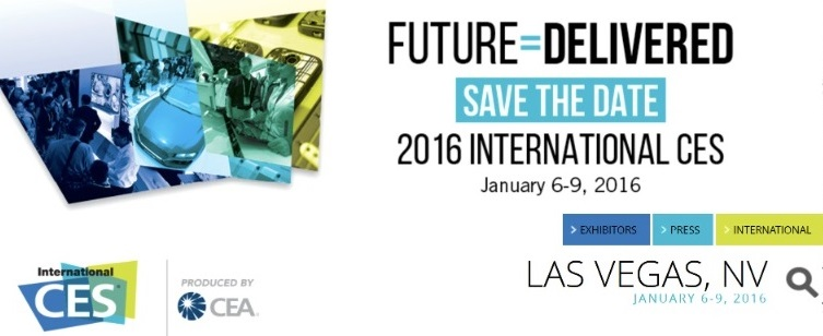 2016 International CES (Consumer Electronics Show), Las Vegas, January 6-9, 2016