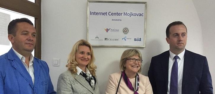 AmCham Donated Internet Centers in Kolašin and Mojkovac