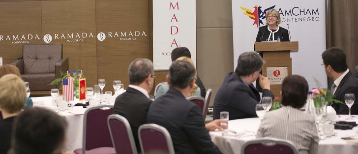 AmCham hosted a Business Luncheon with Ambassador Uyehara