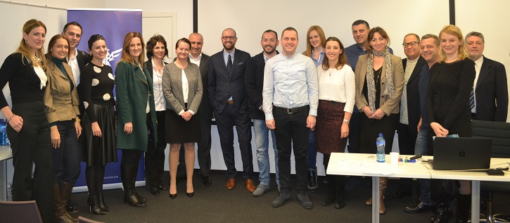 The Leadership Brain lecture for AmCham Montenegro members