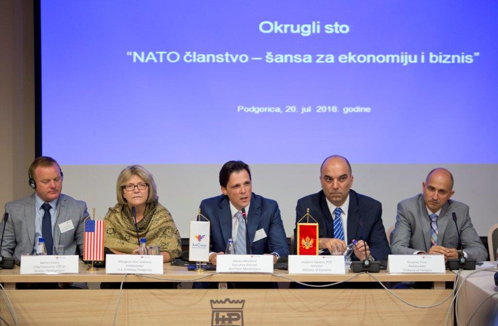 "Round Table ""NATO Membership – an opportunity for the economy and business"""