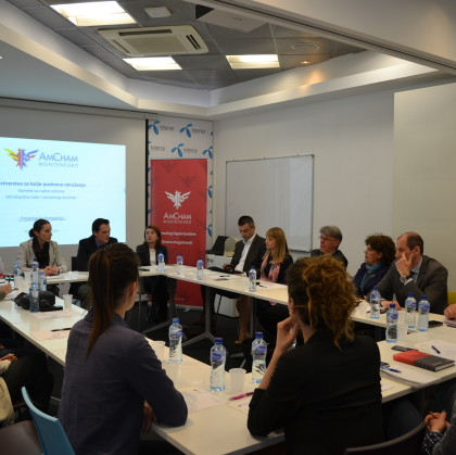 Within Partnership for a Better Business Environment AmCham Labor Relations Committee has been Presented