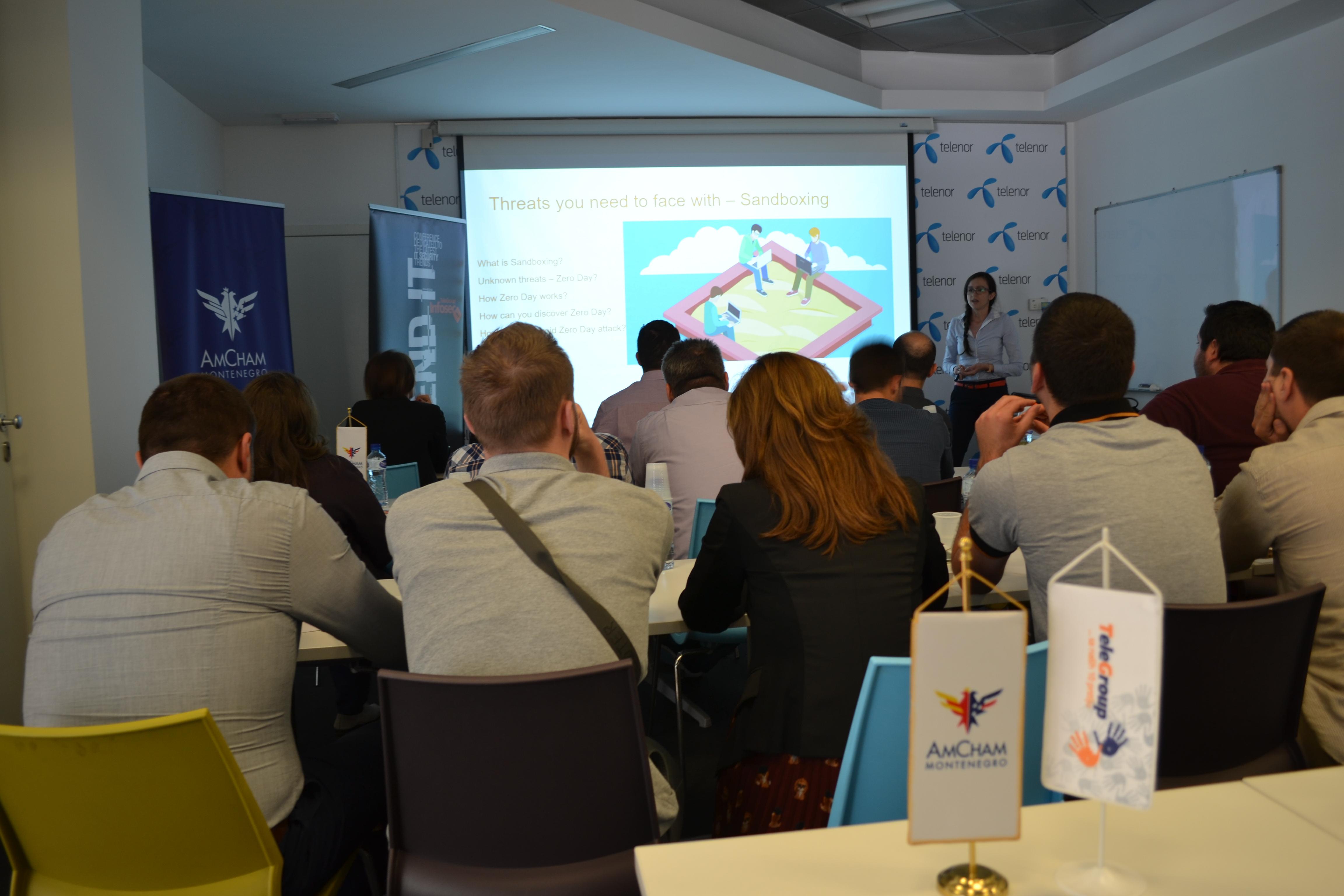 AmCham Montenegro and Telegroup Workshop