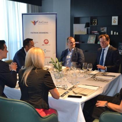 President of AmChams in Europe visited AmCham Montenegro