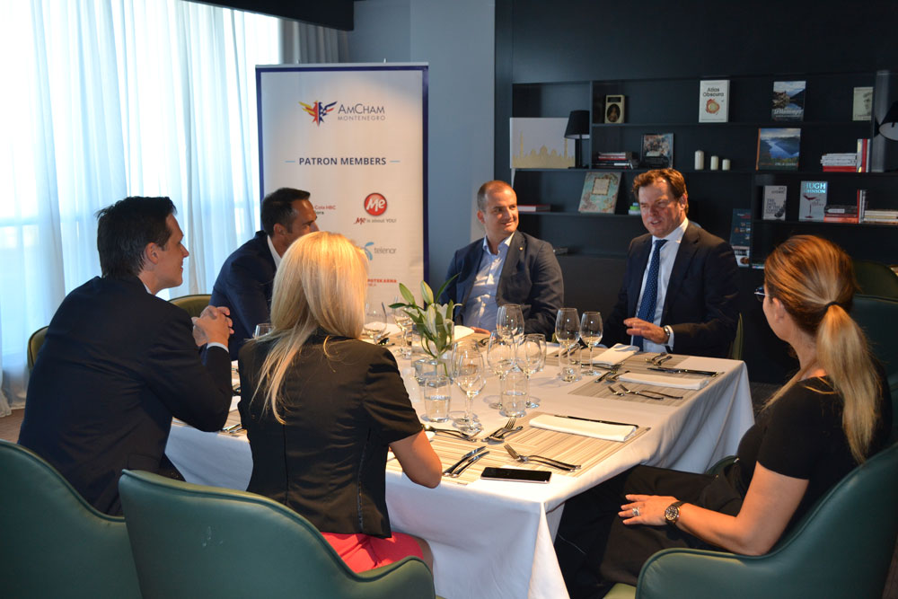 President of AmChams in Europe visited AmCham Montenegro