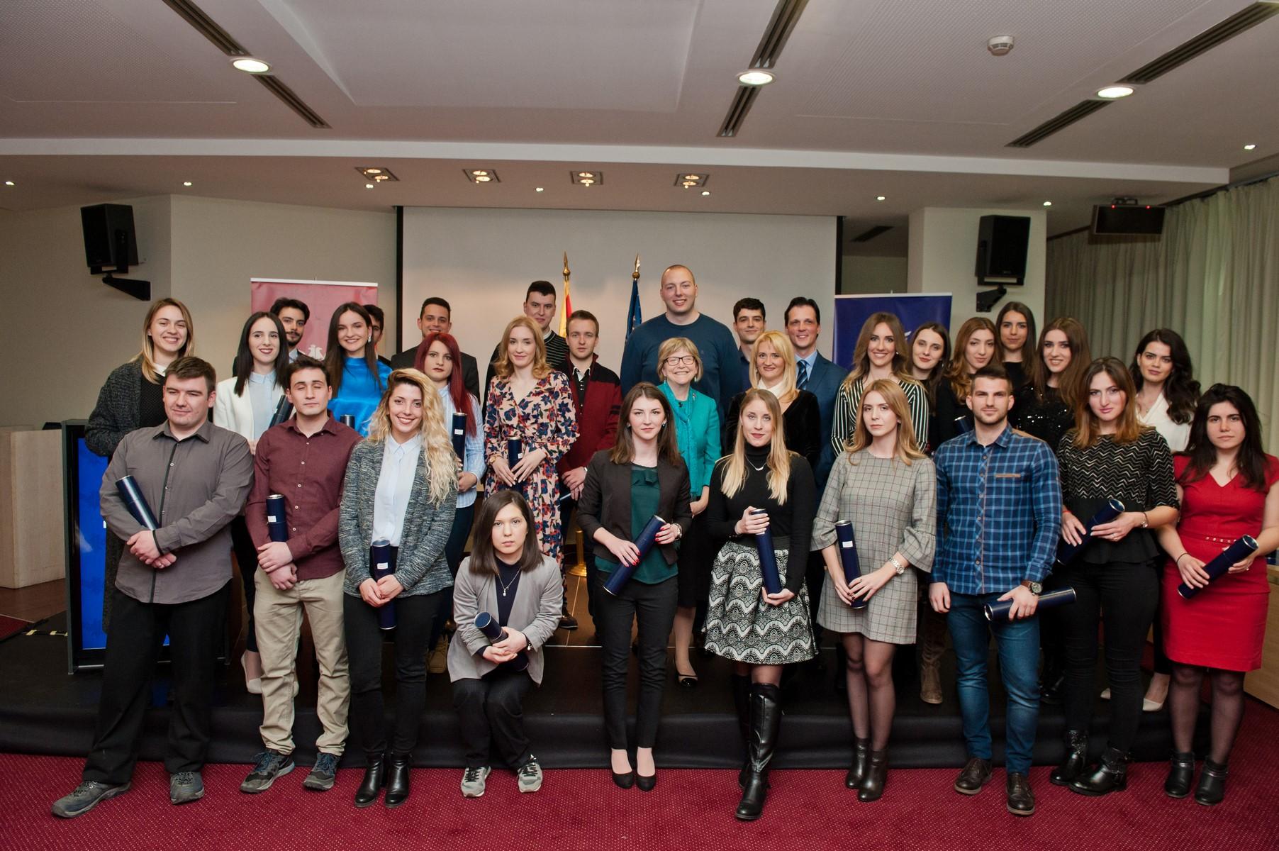 AmCham Montenegro Internship Program Certificate Ceremony