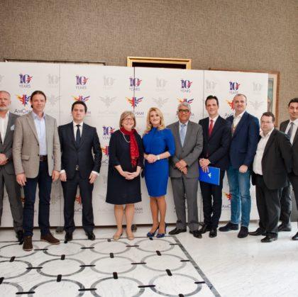 AmCham Montenegro Business Luncheon with U.S. Ambassador to Montenegro H.E. Margaret Ann Uyehara